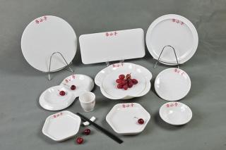 绿玉瓷餐具套装定制