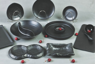 磨砂餐具套装定制